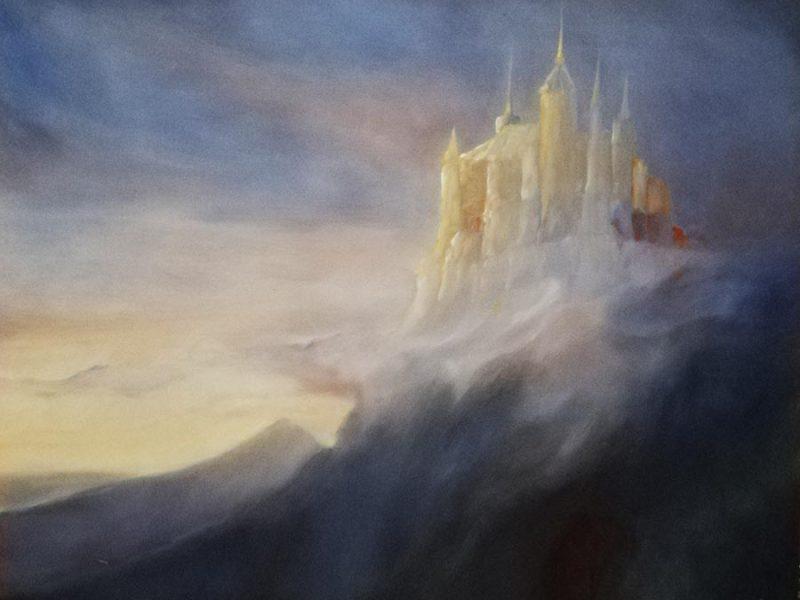 Zamek z Krainy Mgieł